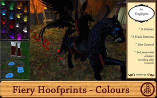 Brass Ring Ranch - Fiery Hoofprints
