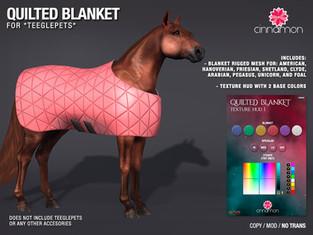 Cinnamon - Quilted Blanket & Texture HUDS