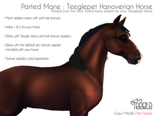 Teegle - Parted Mane