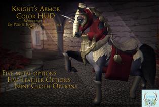 En Pointe + / VaeV \ - Knight's Armor & Galahad Texture Hud
