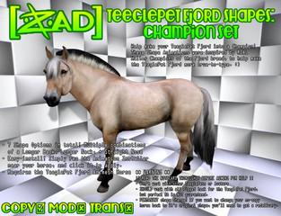 [ZAD] - Teeglepet Fjord Shapes: Champion Set