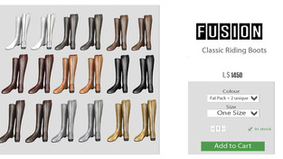 FUSION - Classic Riding Boots