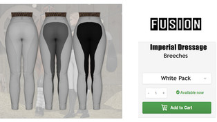 FUSION - Imperial Dressage Breeches