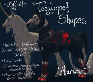 Mythril - Teeglepet Shape: Marwari