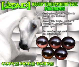 [ZAD] - Teegle Equine Warmth Eyes