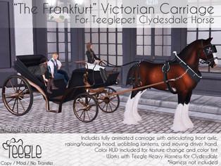 The 'Frankfurt' Victorian Carriage