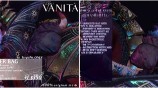 Tutto è Vanità - Dragon Slayer Bag