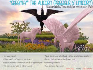 """Serenity"" the Alicorn"