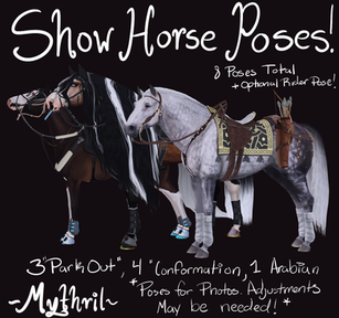 Mythril - Show Horse Poses