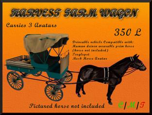 Dione Bingyi - The Harvester Farm Wagon