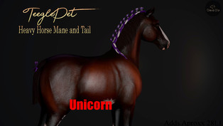 Cheval D'or - Heavy Horse Mane & Tail