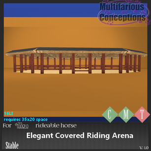 Multifarious Conceptions - Elegant Covered Riding Arena