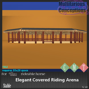 Multifarious Conceptions - Elegant Covered Riding Arena
