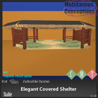 Multifarious Conceptions - Elegant Covered Shelter