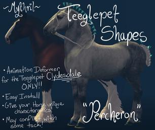 Mythril - Teeglepet Shape: Percheron