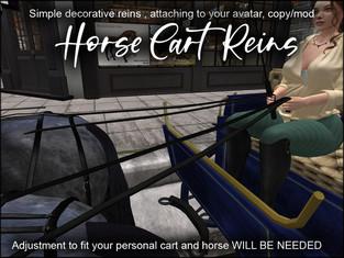 artMEfashion - Horse Cart Reins