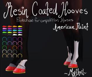 ~Mythril~ Resin Coated Hooves