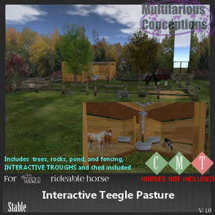 Multifarious Conceptions - Interactive Teeglepet Pasture
