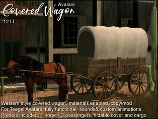 artMEfashion - Covered Wagon