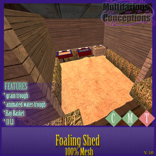 Multifarious Conceptions - Foaling Shed