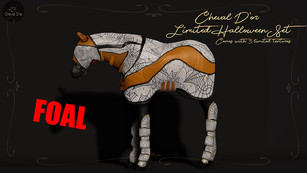 Cheval D'Or - Foal Travel Set (Halloween Limited)