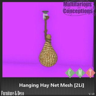 Multifarious Conceptions - Hanging Hay Net
