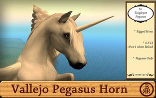 Brass Ring Ranch - Boris Vallejo Horn for Pegasus
