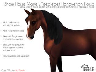 Teegle - Show Horse Mane
