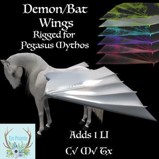 En Pointe - Demon Wings (Teeglepet Pegasus)