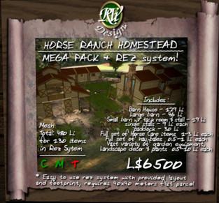 RVi Design - Horse Ranch Homestead