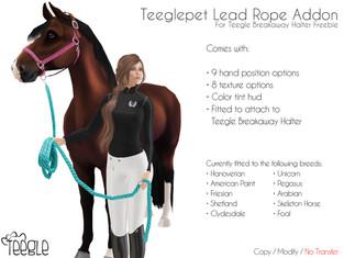 Teeglepet Lead Rope Addon