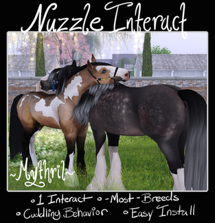 ~Mythril~ Nuzzle, Grazing, & Curious Actions
