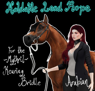 Mythril - Keuring Halter Addon: Held Lead Ropes