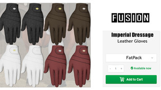 FUSION - Imperial Dressage Gloves