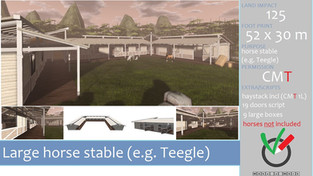 Make A Mark - Large Horse Stable