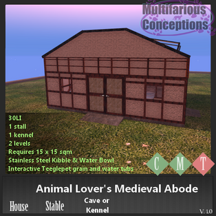 Multifarious Conceptions - Animal Lover's Medieval Abode