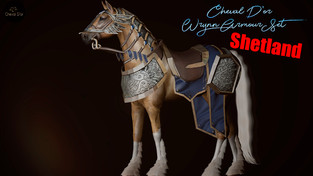 Cheval D'or - Wrynn Armor Tack Set