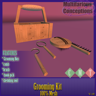 Multifarious Conceptions - Grooming Kit
