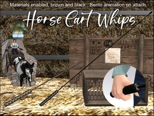 artMeFashion - Cart Whips