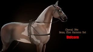 Cheval D'or - Beau, Fine Harness Set