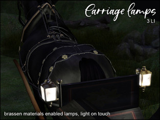 artMEfashion - Carriage Lamps