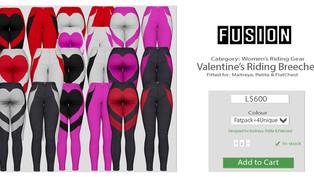 FUSION - Valentine's Riding Breeches
