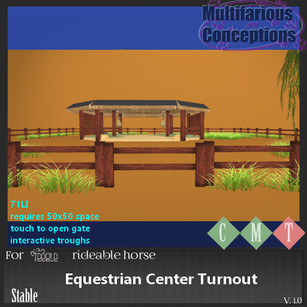 Multifarious Conceptions - Equestrian Center Turnout