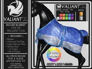 Valiant - Teeglepet Foal Blanket