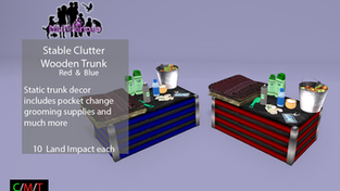Multifarious - Stable Clutter Wooden Trunk