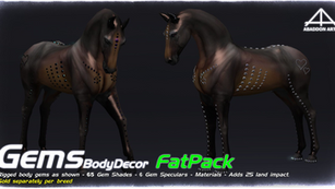 Abaddon Arts - Gems Body Decor