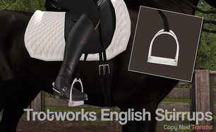 [Trotworks] - Unrigged Mesh Stirrups
