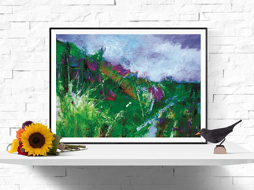 After the Rain, Giclee Art Print from £12.90