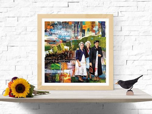 Mother's Memory #1, Giclee Art Print from £11.99
