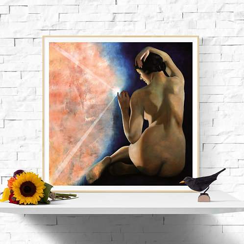 Touching the Light, Giclee Art Print from £11.99